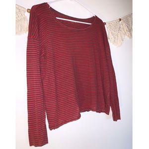 Eileen Fisher Striped Long Sleeve Shirt